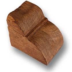 Teak - Balkenkonsole - H-10 cm W-10 cm L-12 cm